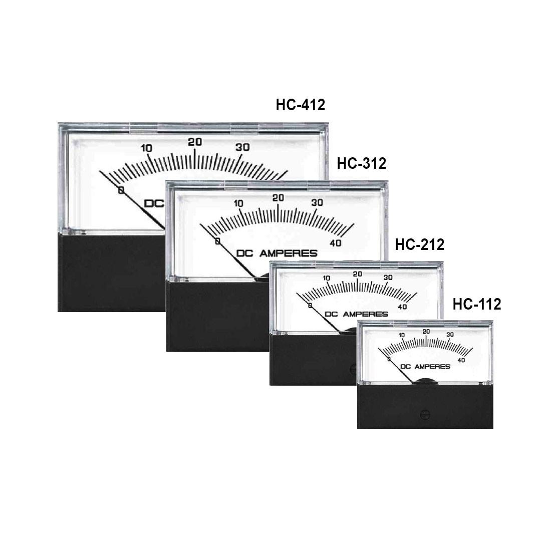 HC-412 AC or DC Analog Panel Meter