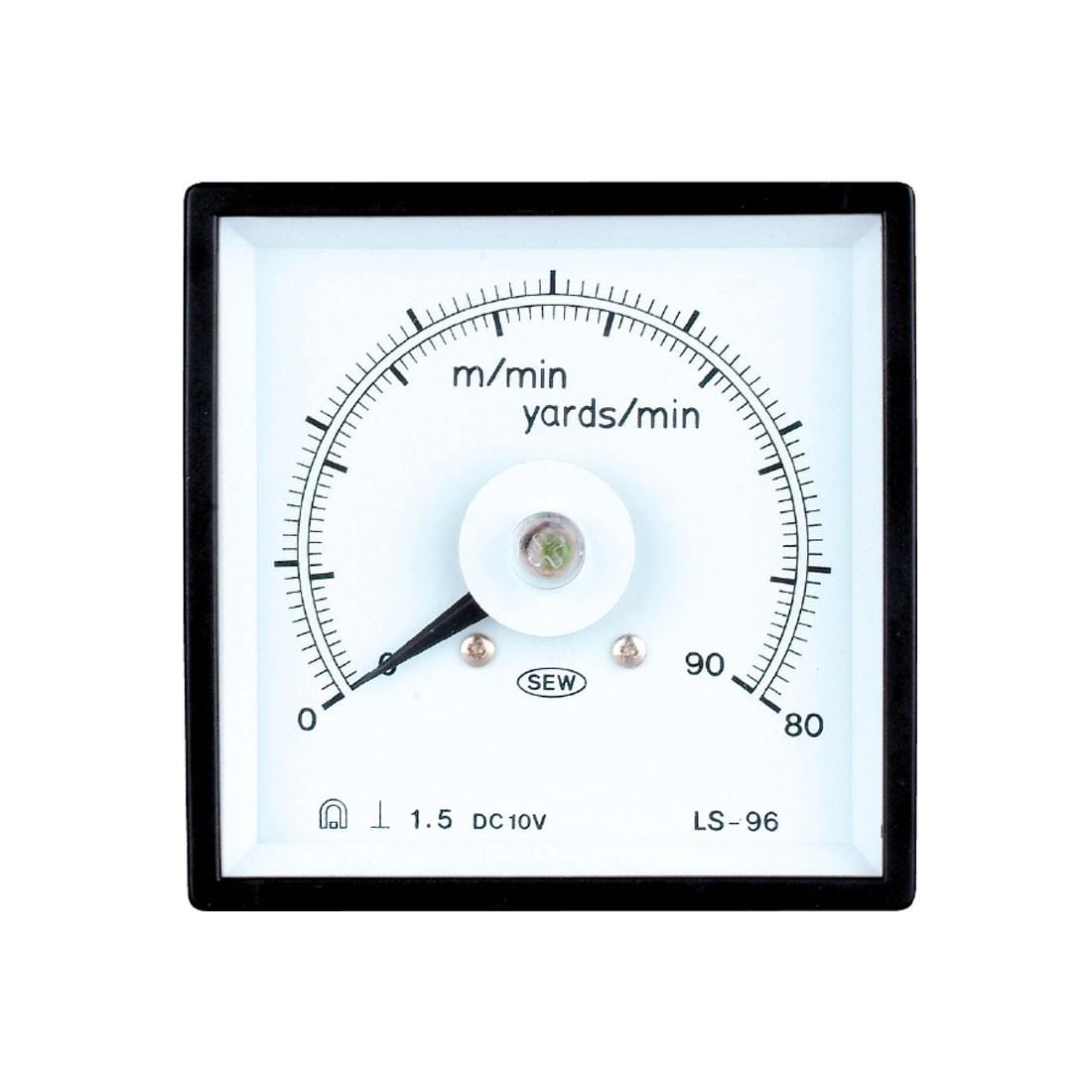HLS-96 DC and AC Analog Panel Meter