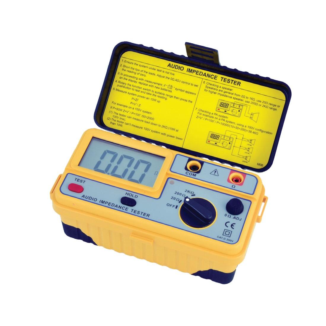 1107IM Audio Impedance Tester