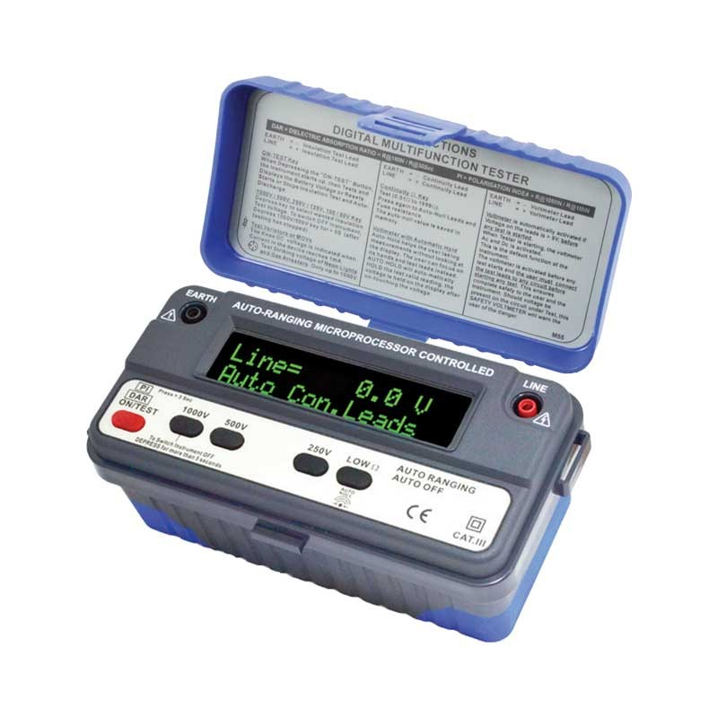 1151 IN-M Insulation & Multifunction Tester (OLED)