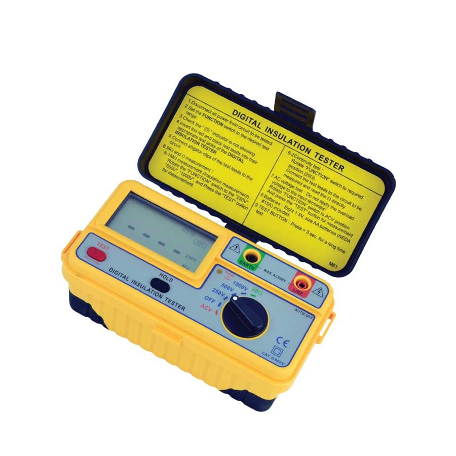 1161IN Digital (Up to 1kV) Insulation Tester