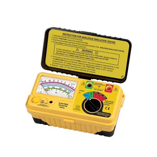1180IN Analogue (1kV below) Insulation Tester