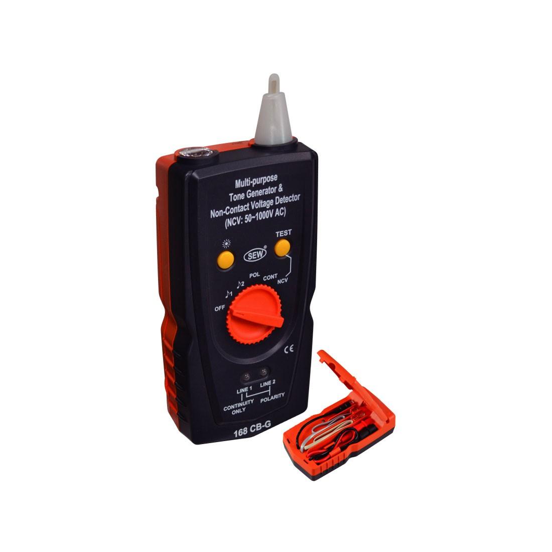 168CB Multipurpose Tone Generator, Amplifier, and Non-Contact Voltage Detector