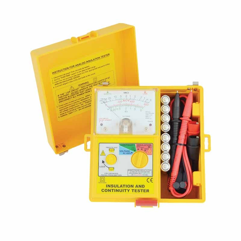 1800 IN Analogue (1kV below) Insulation Tester
