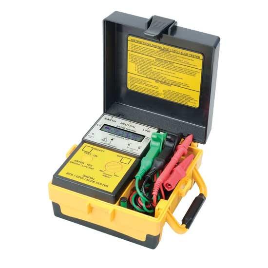 1813 EL Digital ELCB(RCD) Tester