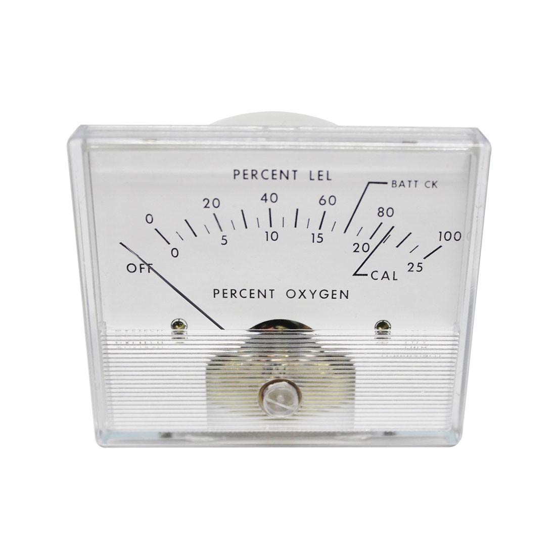 2026 AC Analog Panel Meter - Front View