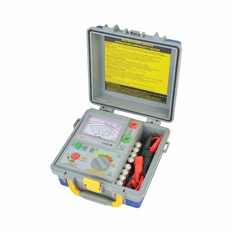 2132 IN Analog Insulation Tester