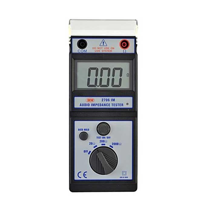2706 IM Audio Impedance Tester