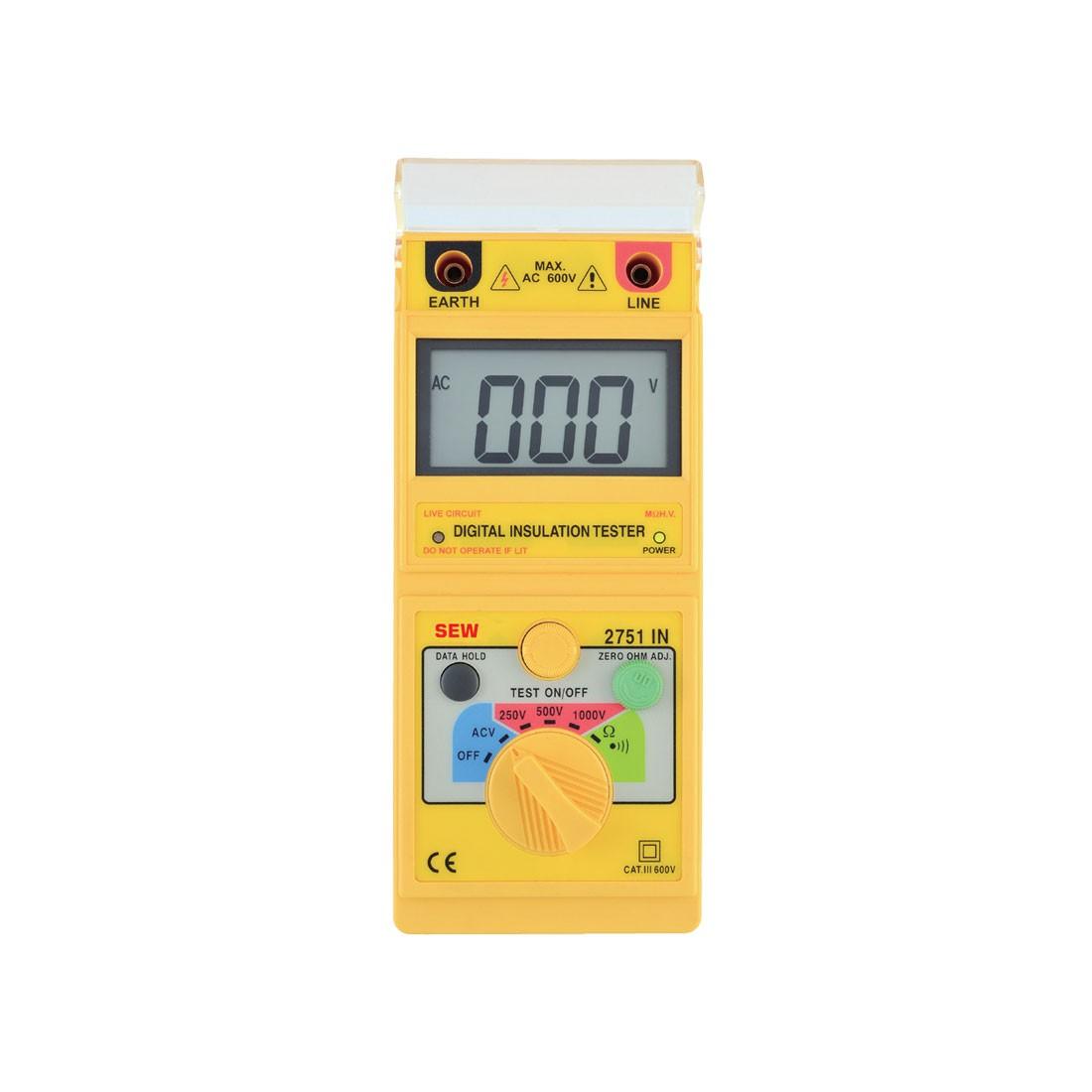 2751IN Digital (Up to 1kV) Insulation Tester