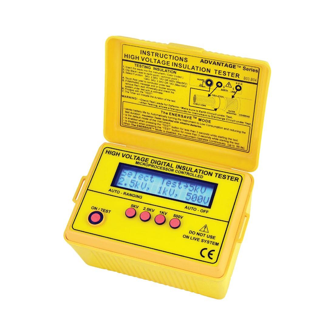 2803IN Digital (Up to 5kV) Insulation Tester