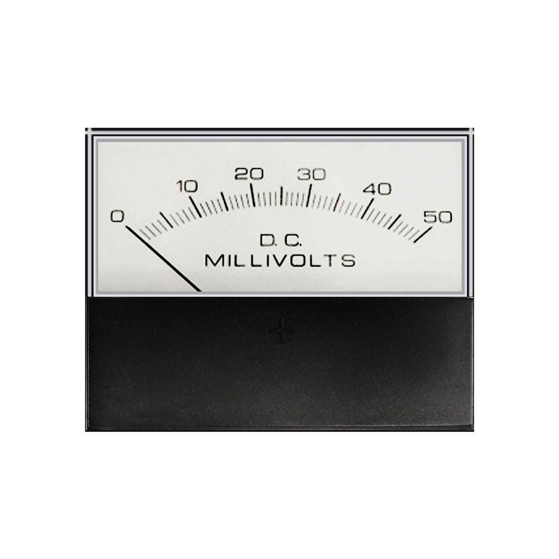 3135 DC Analog Panel Meter - Front View