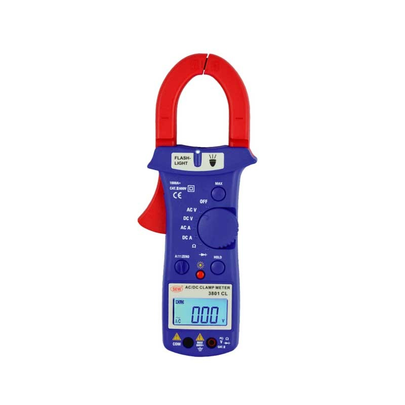 3801 CL AC / DC Clamp Meter