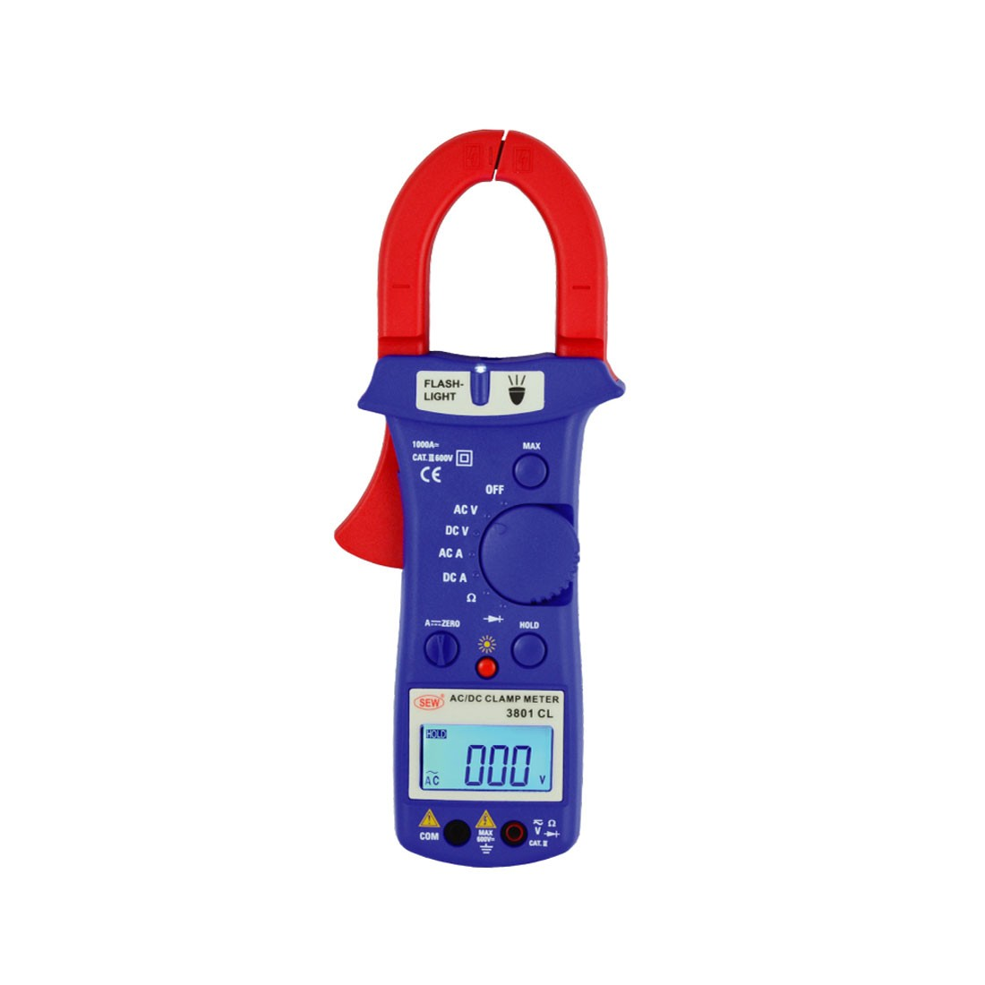 3801CL AC/DC Clamp Meter