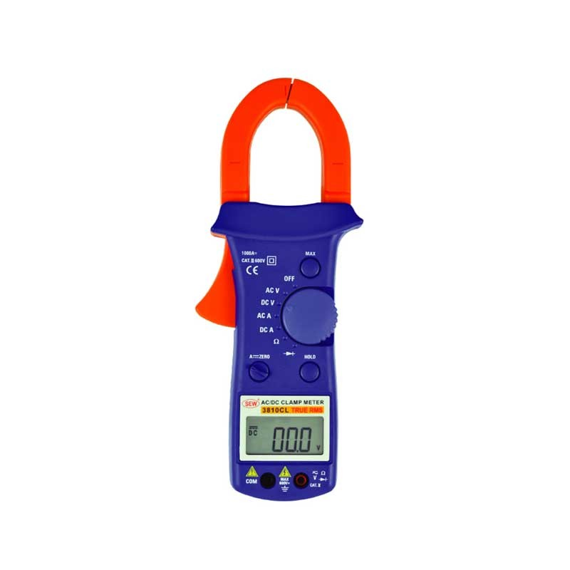 3810CL AC/DC Clamp Meter (True RMS)