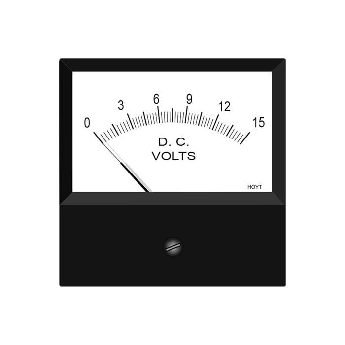 4035 DC Analog Panel Meter