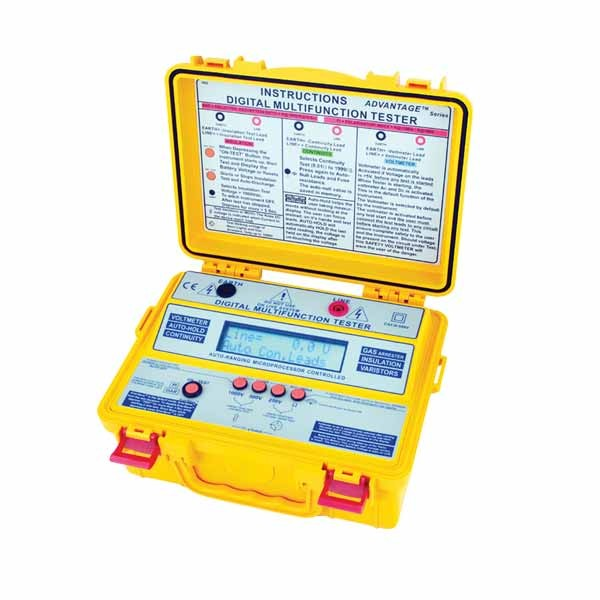 4102 MF Insulation & Multifunction Tester (LCD)