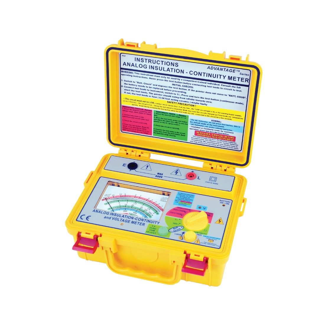 4132IN Analogue (Up to 1kV) Insulation Tester