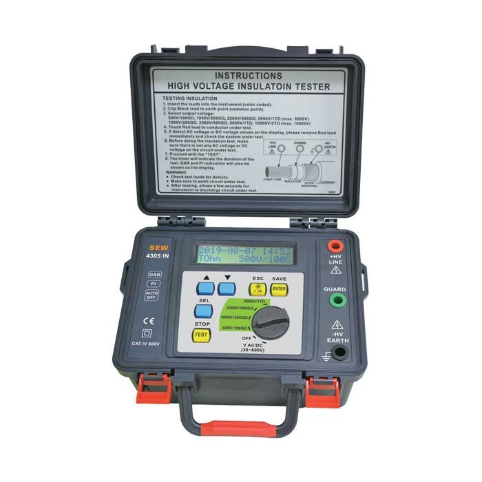 4305 IN Digital HV Insulation Tester