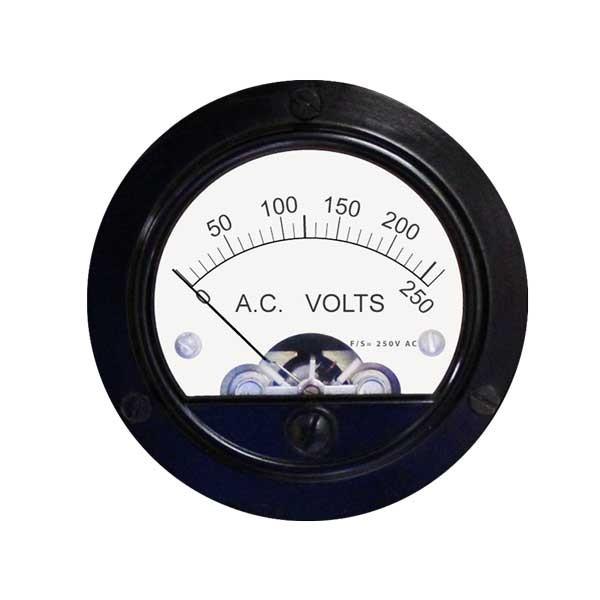 55 AC Analog Panel Meter