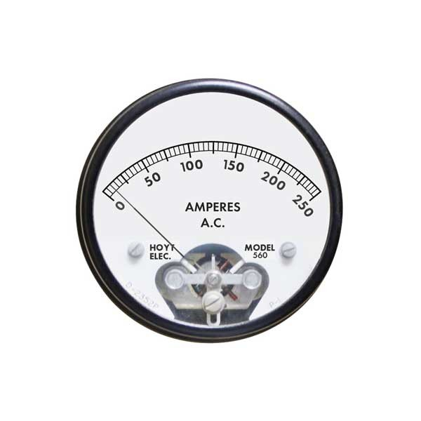 560 AC Analog Panel Meter
