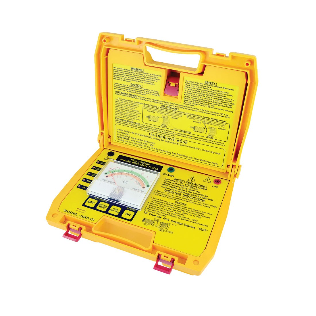 6201IN Analogue (Up to 10kV) Insulation Tester