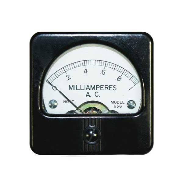 636 AC Analog Panel Meter