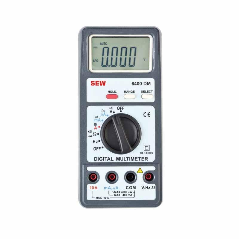 6400 DM Digital Multimeter