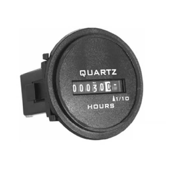 722 Analog Hour Meter Series - Round