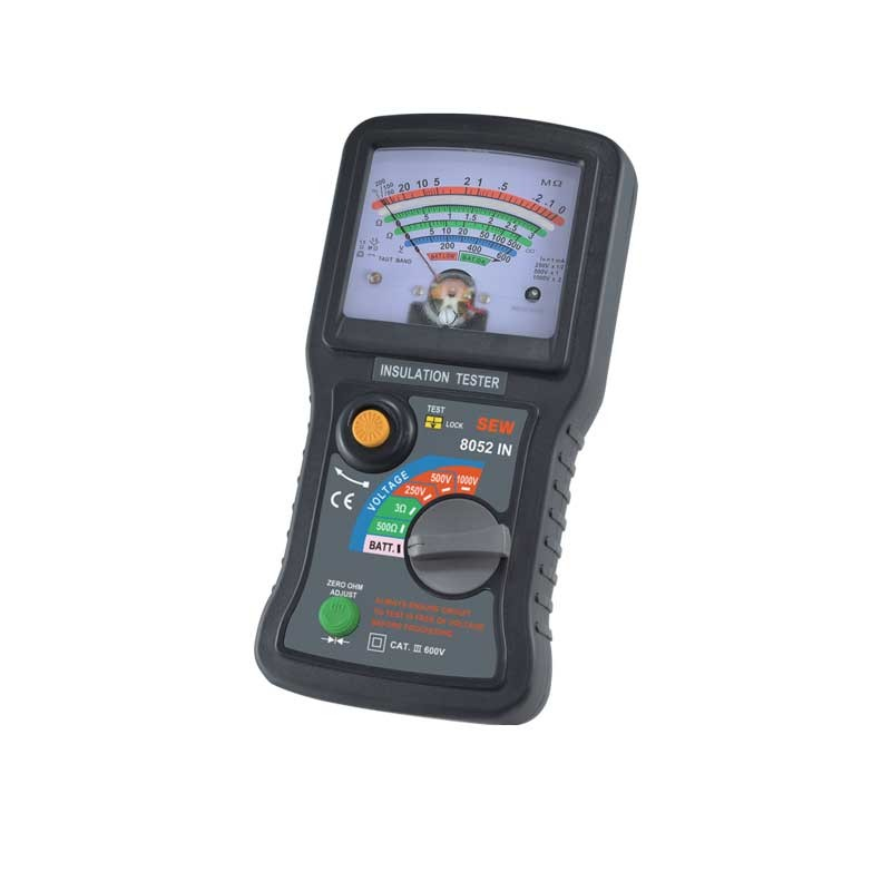 8052 IN Analog Insulation Tester