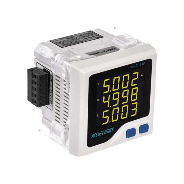 AcuDC 240 - DC Power and Energy Meter