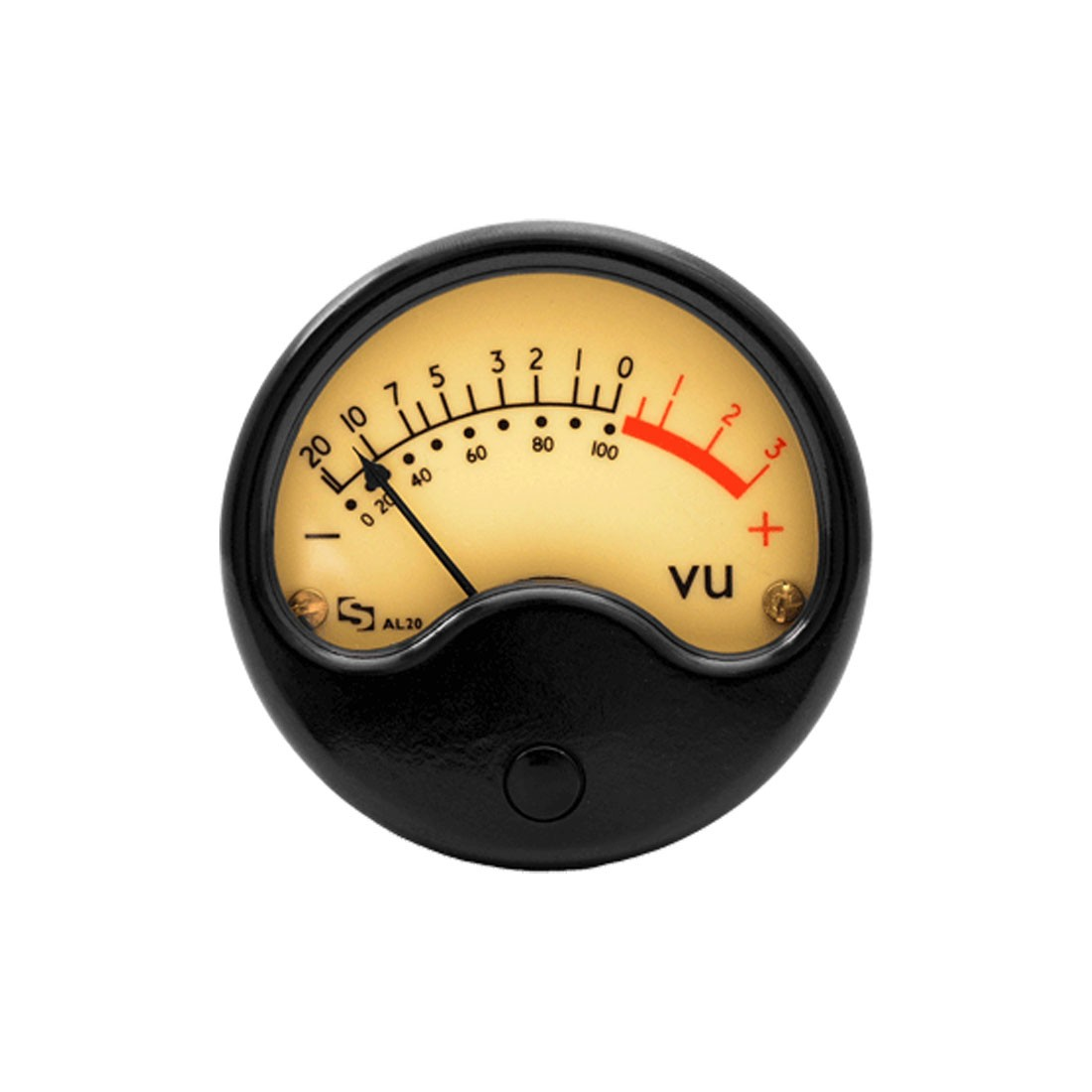 Vintage Audio AL20 Series VU Analog Panel Meter