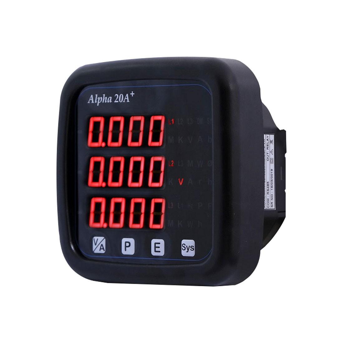 Alpha 20A+ Digital Multifunction LED Power Monitor