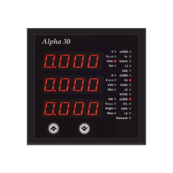 Alpha 30 Multifunction Meter with Energy THD & Plug