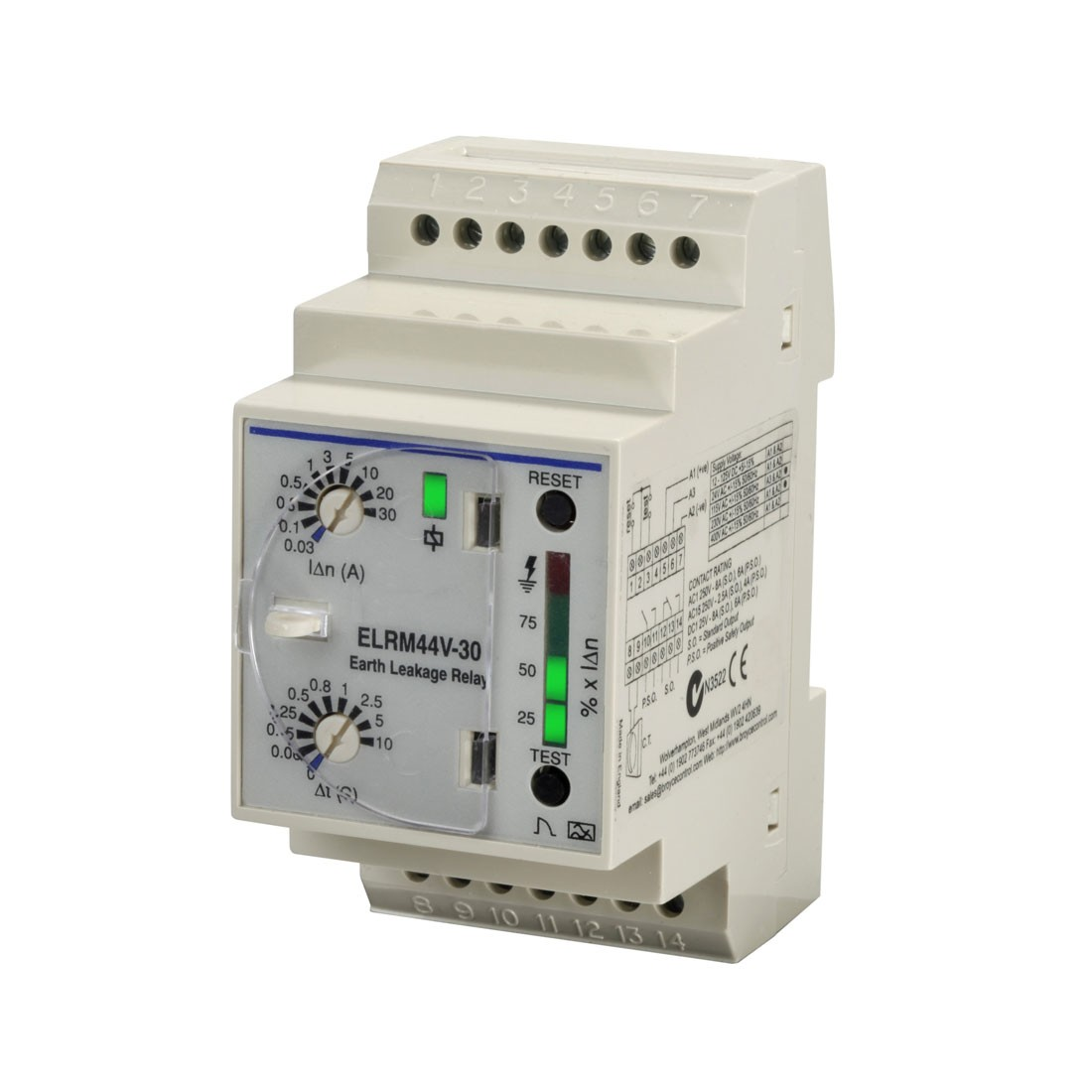 ELRM44V Series - Earth Leakage Relays