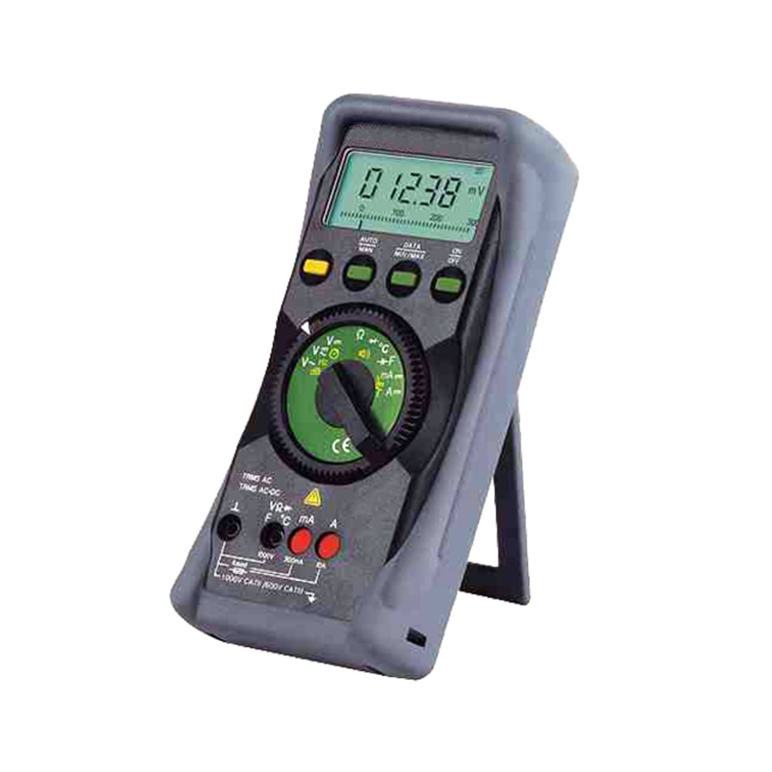 Gamma 10 Multimeter with Terminal Blocking for Maximum Safety