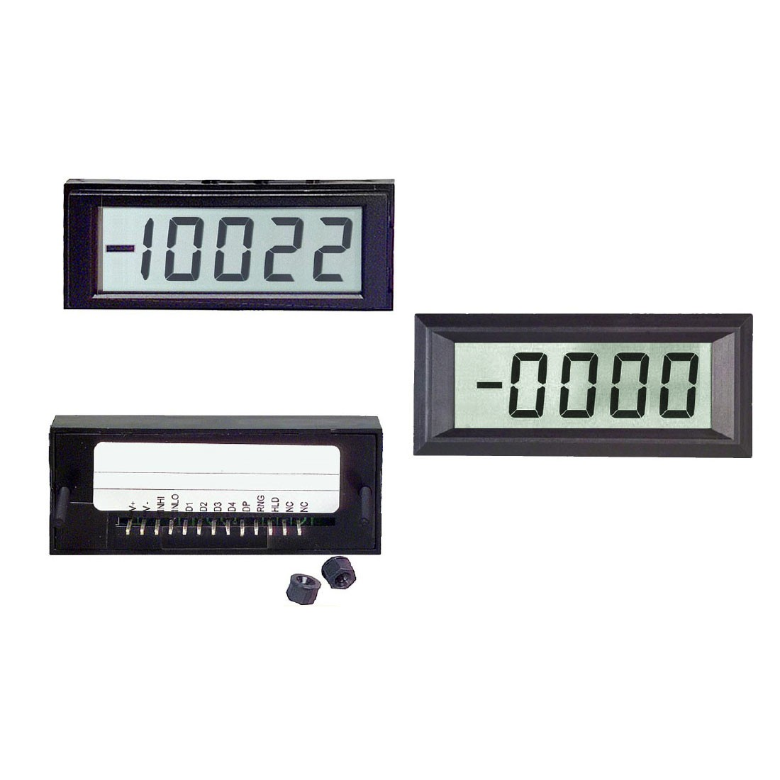 H4W Series LCD Digital Panel Meter