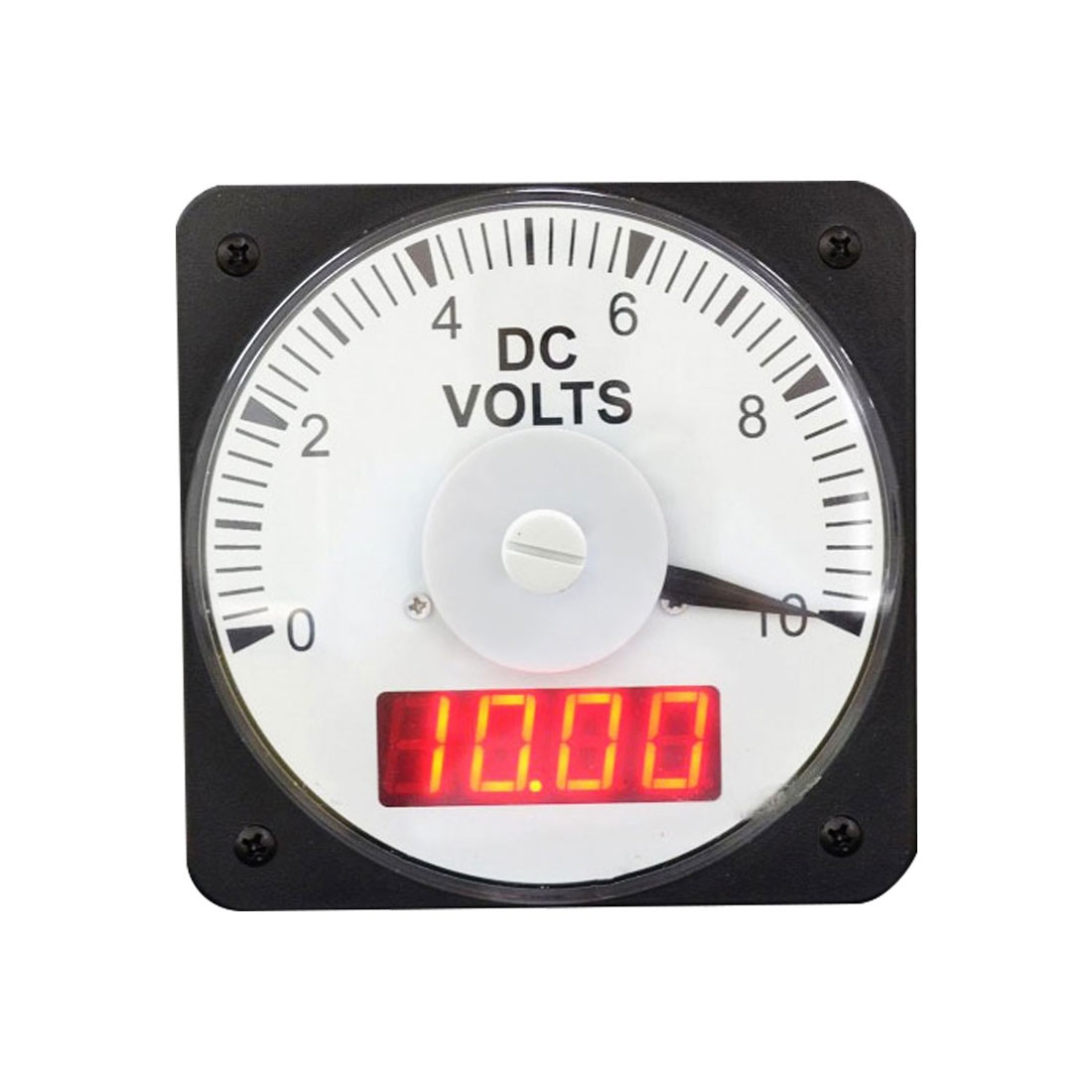 HLS-110DI (TWO-VUE) DC or AC Analog and Digital Combo Panel Meter - Front View