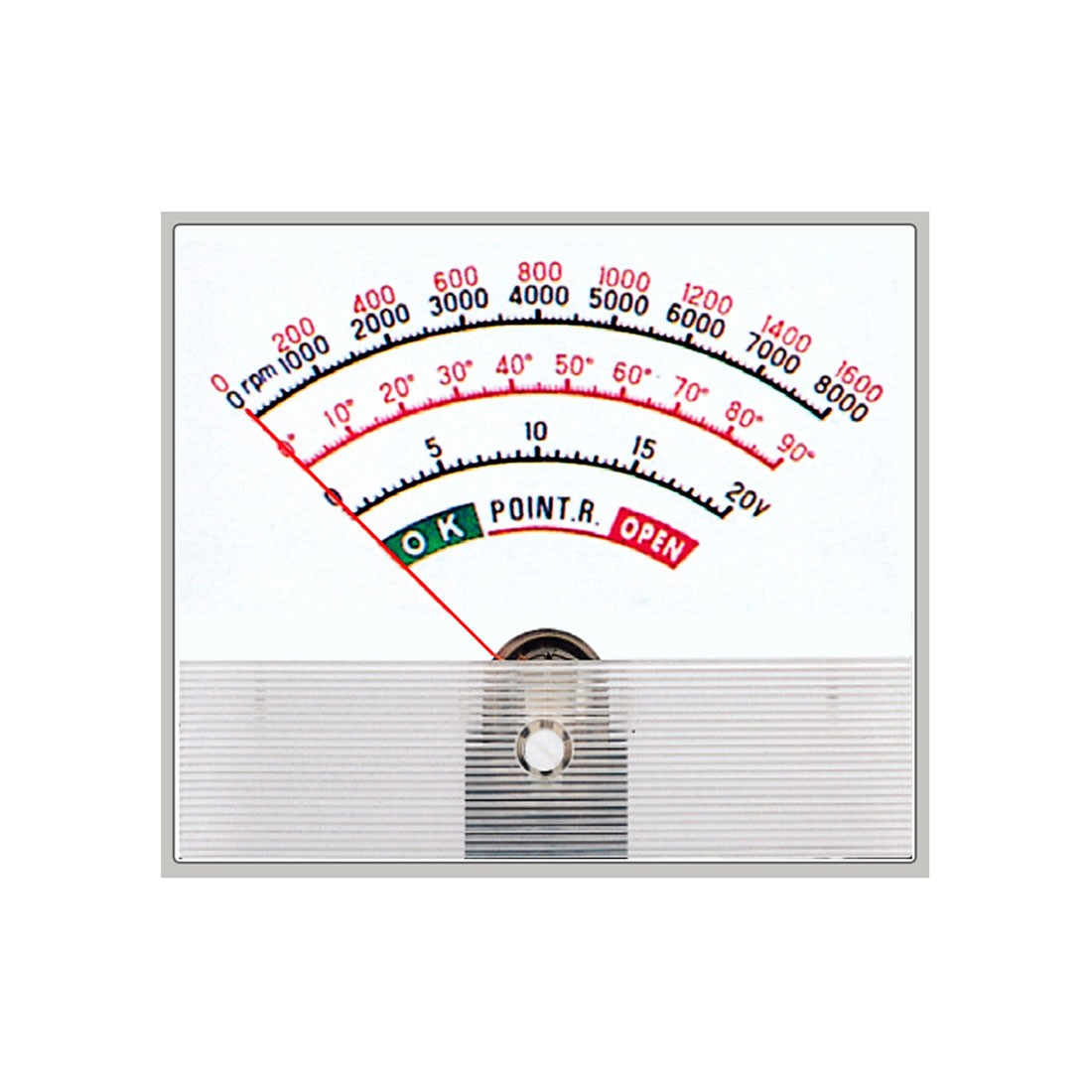 HST-118 DC and AC Rectified Analog Panel Meter