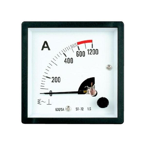 HST-72 AC or DC Analog Panel Meter