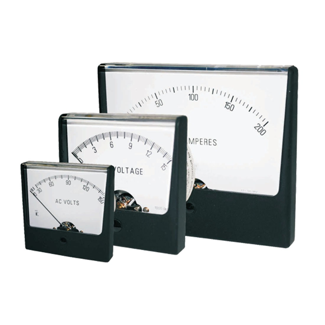 HV-412 AC or DC Analog Panel Meter
