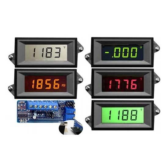 HVPI-3-XEC Series Voltage Powered LCD Digital Panel Meter
