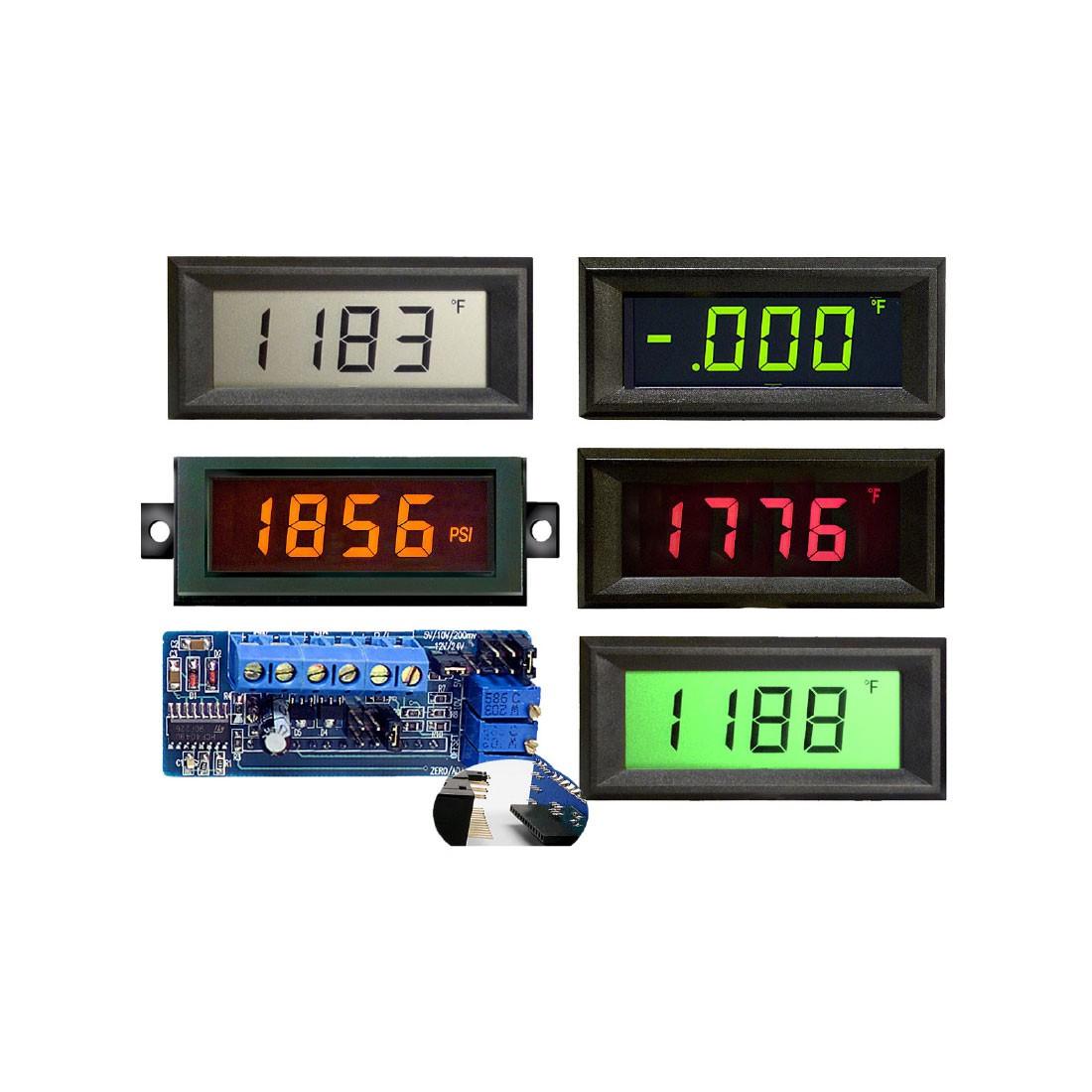 HVPI-3E Series LCD Digital Panel Meter