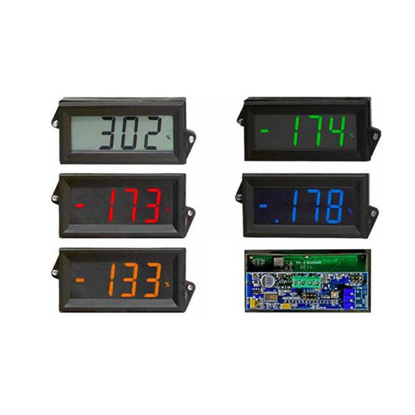 HVPI-24 AC/DC Voltage Powered LCD Digital Panel Meter