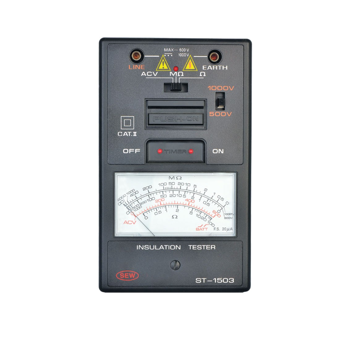ST-1503 Analogue (Up to 1kV) Insulation Tester