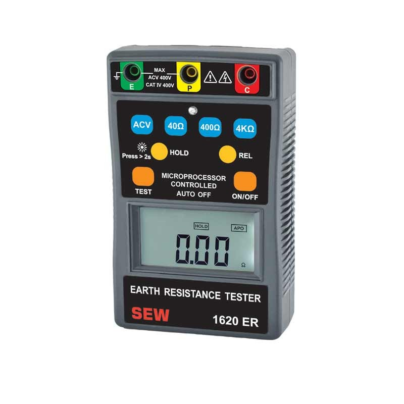 1620 ER 3 Wire Digital Earth Resistance Tester