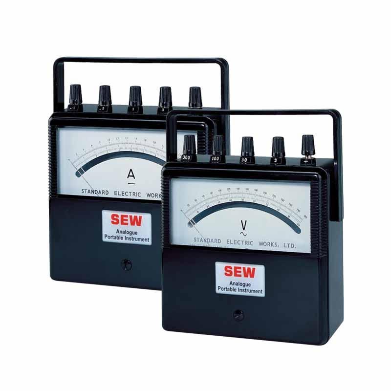 ST-2000 Portable AC/DC Analog Ammeter & Voltmeter (Multimeter)