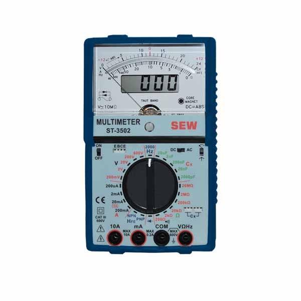 ST-3502 Analog + Digital Multimeter