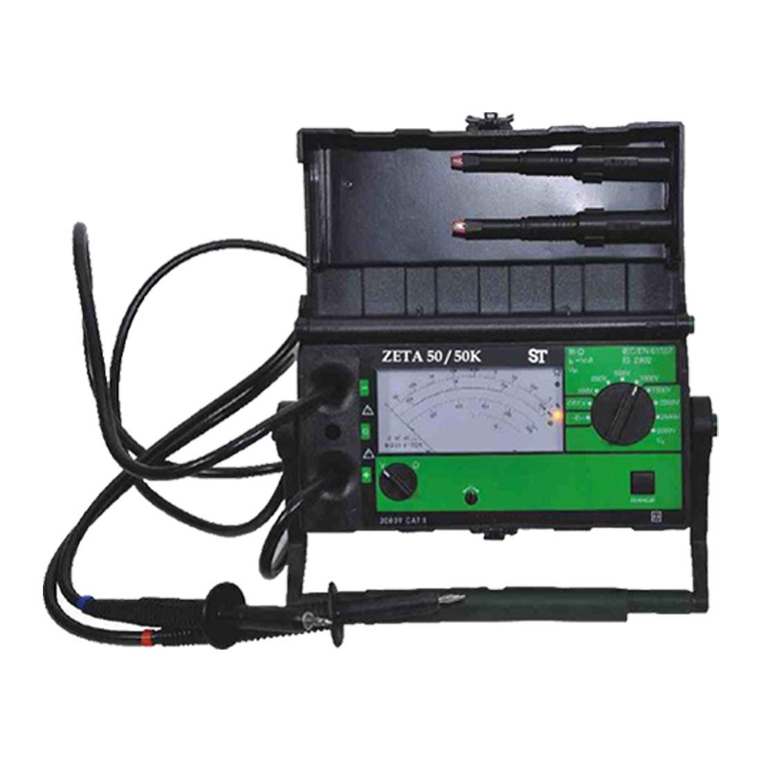 Zeta 50 Benchtop Analog Insulation Resistance Tester