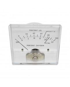 2025 DC Analog Panel Meter - Front View