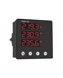 Alpha 20 DIN Digital Multifunction Three Phase Network Monitor